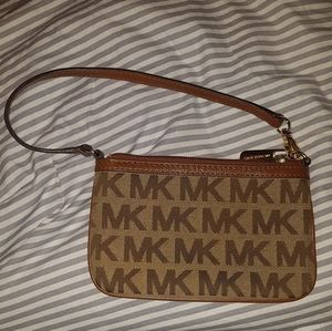 Michael Kors wristlet/coin purse